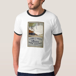 Tours from Bath by Bristol T-shirt