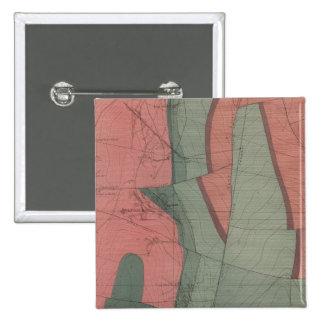 Tourtelotte Park Mining District Sheet Map Pinback Button