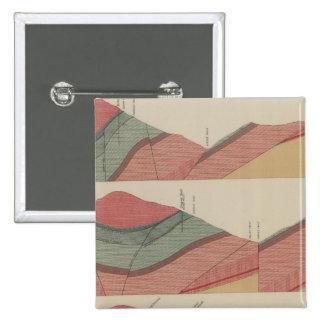 Tourtelotte Park Mining District Sheet Pinback Button