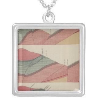 Tourtelotte Park Mining District Sheet Silver Plated Necklace