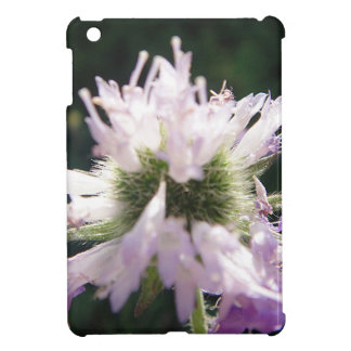 Tousled purple bloom ball cover for the iPad mini