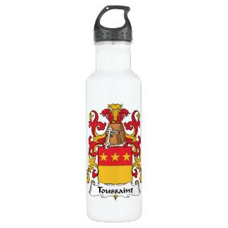Toussaint Family Crest 24oz Water Bottle