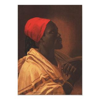 Toussaint L'Ouverture by George DeBaptiste (1870) Card