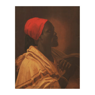 Toussaint L'Ouverture by George DeBaptiste (1870) Wood Wall Art