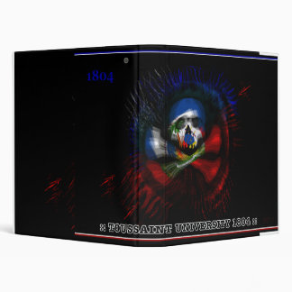 TOUSSAINT UNIVERSITY 1804 3 RING BINDER