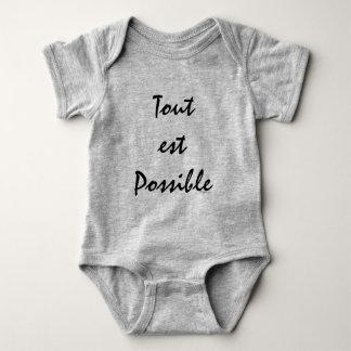 Tout est Possible Baby Bodysuit