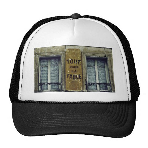 Tout pour la table trucker hat zazzle - Tout pour la table ...