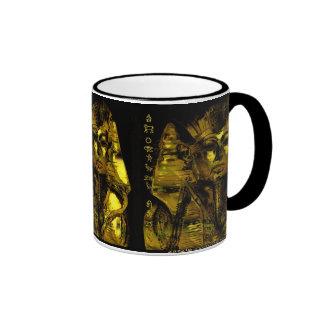 Toutankhamon 'golden sarcophagus ringer coffee mug