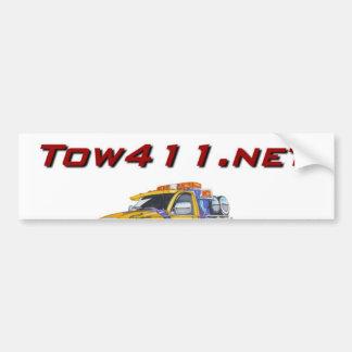 Tow411.Net Car Bumper Sticker