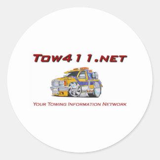 Tow411.net Classic Round Sticker