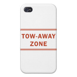 Tow-Away Zone iPhone 4 Case
