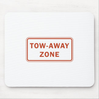 Tow-Away Zone Mouse Pad