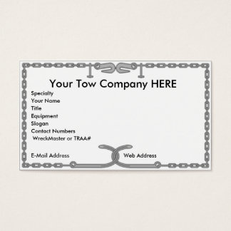 Tow Chain Business Card