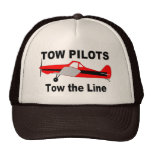 Tow Pilots Tow the line Hats