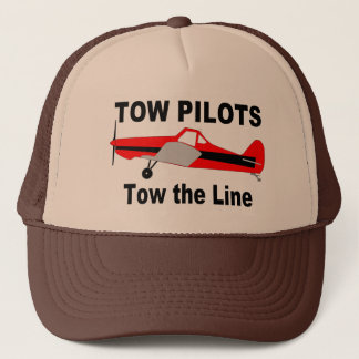 Tow Pilots Tow the line Trucker Hat