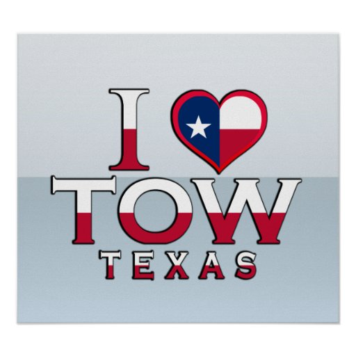 Tow, Texas Poster