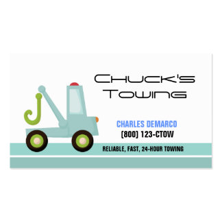 Tow Truck Automotive Business Card Template