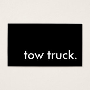Towing business cards templates zazzle tow truck business card colourmoves Gallery