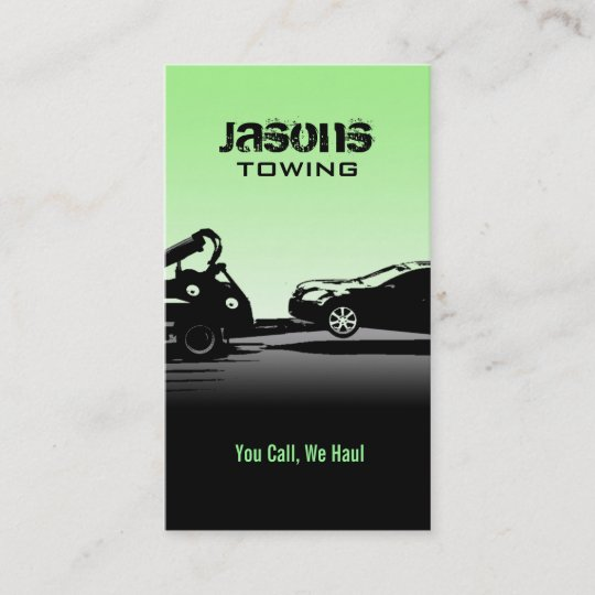 Tow truck business cards zazzle tow truck business cards colourmoves