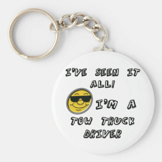 Tow Truck Driver Keychain
