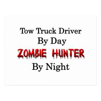 Tow Truck Driver/Zombie Hunter Postcard
