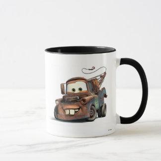 Tow Truck Mater Smiling Disney Mug