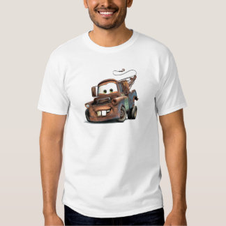 Tow Truck Mater Smiling Disney T Shirt