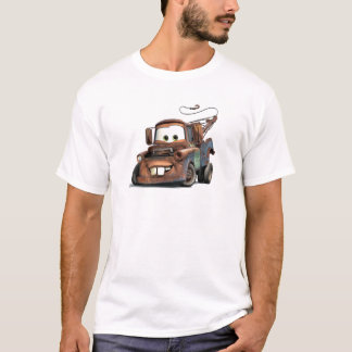 Tow Truck Mater Smiling Disney T-Shirt
