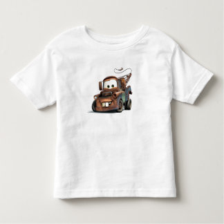 Tow Truck Mater Smiling Disney Tshirts