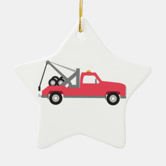 Tow Truck Christmas Tree Ornaments