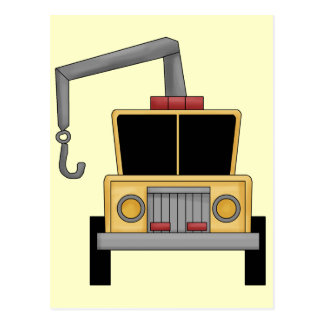 Tow Truck Postcard