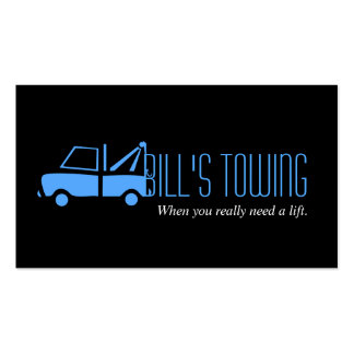 Tow Truck Towing Business Card