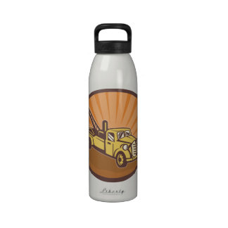 Tow Truck Water Bottle