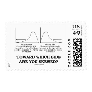 Toward Which Side Are You Skewed? Skewness Stats Stamp