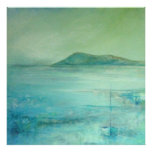 Towards Samson Hill, Isles of Scilly Print