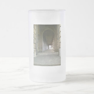Towards the Light 16 Oz Frosted Glass Beer Mug