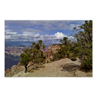 Towards Yaki Point - Grand Canyon Poster