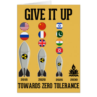Towards Zero Tolerance 2030 Card