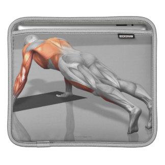 Towel Fly Exercise 4 iPad Sleeves