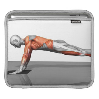 Towel Fly Exercise iPad Sleeves