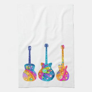 TOWEL - POP ART GUITARS