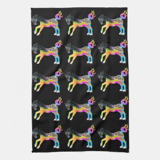 TOWEL, POP ART HORSE TOWEL