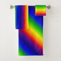 Towel Set - Prismatic Rainbow
