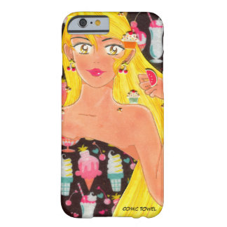 Towel, the Girl Who Loved Sweets (And Still Does) Barely There iPhone 6 Case