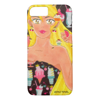 Towel, the Girl Who Loved Sweets (And Still Does) iPhone 7 Case