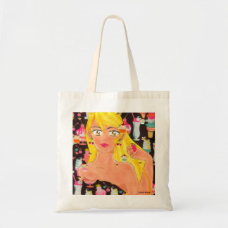 Towel, the Girl Who Loves Sweets Tote BAG