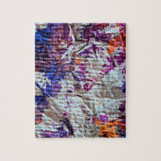 toweling paint blotches grunge look image jigsaw puzzle