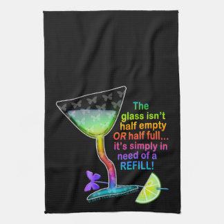TOWELS - GLASS HALF FULL