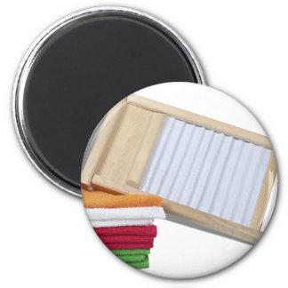 TowelsWashBoard112810 Fridge Magnet