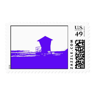 Tower #1 stencil postage stamps